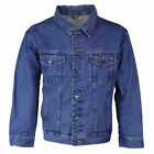 Внешний вид - Star Jean Men's Classic Premium Button Up Cotton Denim Jean Jacket Blue