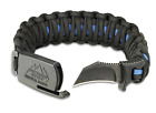 Outdoor Edge PARA-CLAW Paracord Survival Bracelet & Knife - Available Colors