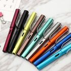 Writing Toll Letter Aluminum Alloy 6359 Fountain Pen Extra Nib 0.38mm 7Colors