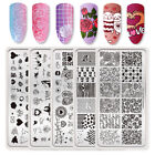 Valentine's Day Design Nail Stamping Plates Nail Art Image Templates Born Pretty