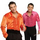 Velvet Disco Shirt Costume Halloween Fancy Dress