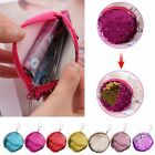 Ladies Double Color Mermaid Sequins Bag Coin Wallet Girls Purse Pouch Keychain
