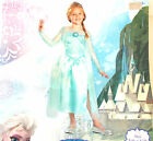 Disney Elsa Frozen Child Costume Dress XS S M NIP