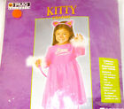 Hot Pink Kitty Cat Dress Headband Costume 2-4T 4-6T NIP