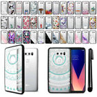 "For LG V30 6"" LG V30+ Plus H930 VS996 Black Clear Case TPU Bumper Cover + Pen"