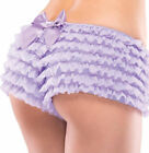 RUFFLED RUFFLES BOY BOOTY SHORTS PANTY PANTIES COSTUME HOT UNDER PANTS WOMEN
