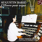 BARIE, AUGUSTIN-Works for Organ - Marie-Therese Jehan, organ (UK IMPORT)  CD NEW