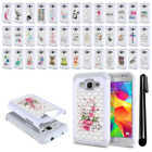 For Samsung Galaxy Core Prime G360 Crystal Sparkle HYBRID Case Cover + Pen