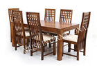 Stylish Wooden Dining table /Cushioned Chair / Bench furniture set (DSET660)