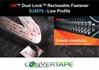 3M™ SJ4570 Dual Lock Low Profile Adhesive Recloseable Fastener Clear