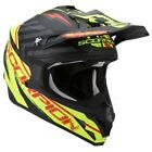 Scorpion VX-15 Gamma Black Yellow Full Face Motocross Motorcycle Helmet