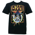 Authentic STAR WARS Old School Comic T-Shirt S M L XL 2XL 3XL NEW $17.99 USD on eBay
