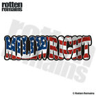 Millwright Decal American Flag USA United States Gloss Sticker HVG