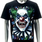 r222 Rock Eagle T-shirt Tattoo GLOW in DARK Skull Ghost Joker Fun Monster Hero