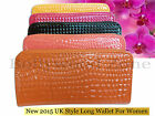 Brand New 2016 Japanned leather women's long design zipper wallet