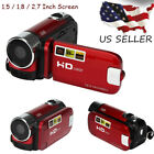 "NEW Style 2.7"" Full HD 1080P 16M 16X Digital Zoom Video Camcorder Camera  DV Kit"