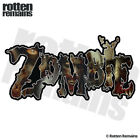 Zombie Decal Zombies Walking Dead Undead Car Truck Gloss Sticker HVG