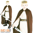 Jedi Robe Boys Fancy Dress Star Wars Luke Skywalker Kids Childrens Costume Cloak