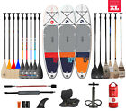 TwoBareFeet Sport Air 10'10 x 6'' Inflatable Paddleboard + SUP Package Choice
