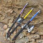 Ultralight Fiberglass Fishing Rod Travel Spinning Rod Sea Saltwater Pole 3.6M