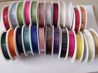 GORGEOUSLY GROOVY Grosgrain Ribbon - 16mm Var cols/lengths **CLEARANCE STOCK**