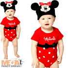 Minnie Mouse Infants Fancy Dress Animal Disney Baby Toddlers Costume 0-24 Months