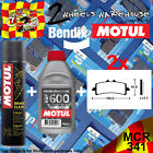 2x BENDIX 341-MCR & RBF600 & P2 BRAKE PADS FLUID CLEAN FITS MOTORCYCLES LISTED