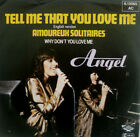 """7"""" 1981 CV LIO ! ANGEL : Tell Me That You Love (= Amoureux Solitaires ) MINT-?"""