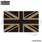 Britain Union Jack Desert Tan Subdued Flag Decal UK British Gloss Sticker HGV
