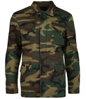 Alpha Industries Men's Woodland Camo Dragon Tour Field Coat Jacket