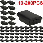 Lot 100 For Xbox 360 Wireless Controller AA Battery Pack Case Cover Holder Shell