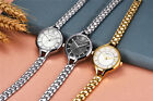 Casual Elegant Bracelet New Womens Analog Quartz Wrist Watch Stainless Steel