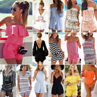 Kyпить Women's Holiday Mini Playsuit Clubwear Ladies Jumpsuit Romper Summer Beach Dress на еВаy.соm