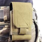 Portable Outdoor Army Tactical Pouch Holster Mobile Phone Case Bag Holder Belt