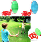 Kids Fitness Toy Ball Interaction Pull Shuttle 2 Person Workout Sport Toy Random