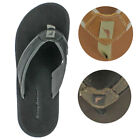 Tommy Bahama Seawell Men's Leather Flip Flop Sandals