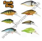 Fox Rage Funk Bug DR  5cm Hard Lures / All Colours / Pike, Bass Fishing