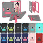 For iPad 2 3 4/Mini/Air/Pro/New iPad Case Kids Shockproof Bumper Stand Cover US
