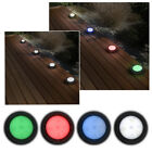4 x Patio Deck Lights Colour Changing Indoor Outdoor Round LED Electric Recess