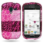 For Samsung Galaxy Exhibit Case - Slim Protective Hard Snap-On Phone Cover