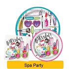 SPA PARTY Birthday PARTY Range NEW Tableware Balloons & Decorations Supplies 1C
