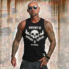 Neues Yakuza Herren One Love Tank Top T-Shirt - Schwarz