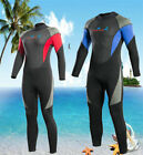 CP's Mens Womens 3mm Thick Full Wetsuit Warm Quick Dry Long Sleeves Diving Suits