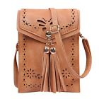 Womens Handbags Small Leather Crossbody Bag Purse Vintage Cell Phone Travel Bag