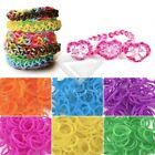 Kyпить 185-200pcs Refill Rainbow Rubber Loom Bands Striped Bracelet DIY Making на еВаy.соm