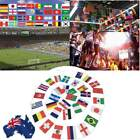 AU! 2018 Football World Cup 32 Countries 9 Meters String flag Banner Decorations