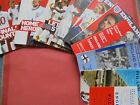 ENGLAND U21 HOME INTERNATIONAL PROGRAMMES CHOOSE FROM