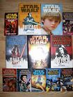 12 Hardcover w/dust & Softcover STAR WAR Books LOT EXCELLENT Fate of the Jedi