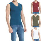Sports Mens' Casual Cotton Sleeveless Vest Slim Tank Tops Bodybuilding T-Shirts