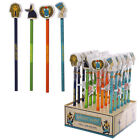 1  x Novelty Egyptian design pencil and eraser set  assorted designs